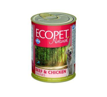 Ecopet Natural 400g marha, csirke