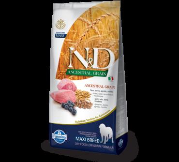 N&D Low Grain Maxi Adult bárány, áfonya 12kg