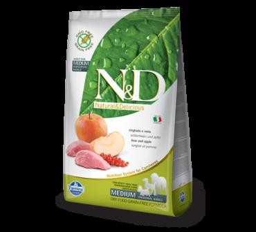N&D Vaddisznó, alma 2,5 kg