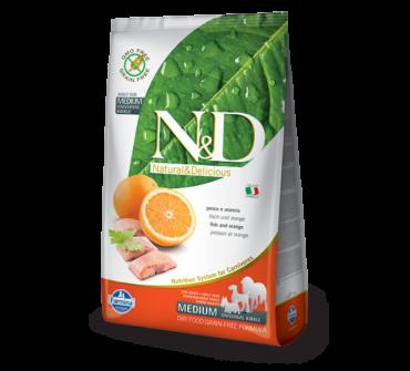 N&D Hal, narancs 12 kg