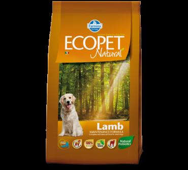 EcoPet Médium adult bárányos 14Kg