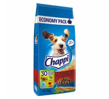 Chappi 13,5 Kg marha, csirke, zöldségek