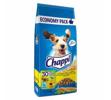 Chappi 13,5 kg baromfi, zöldségek