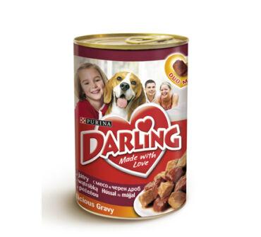Darling 400g kutya hús, máj