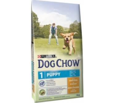 Dog Chow junior csirkés 14Kg