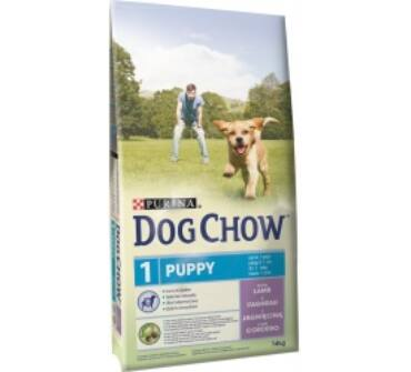 Purina Dog Chow puppy bárányos 14kg