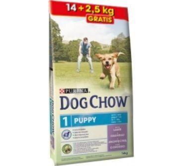 Purina Dog Chow junior bárány 14+2,5Kg