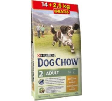 Purina Dog Chow adult csirke 14+2,5Kg