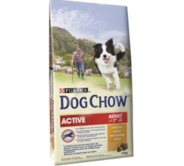 Dog Chow adult aktív 14Kg