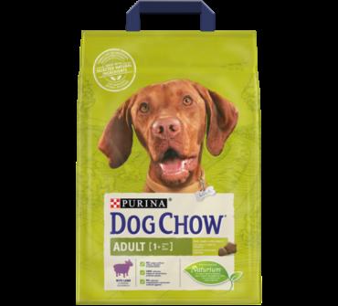 Dog Chow adult bárányos 2.5Kg