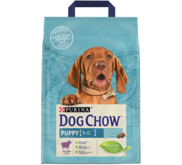 Dog Chow junior bárányos 2,5Kg