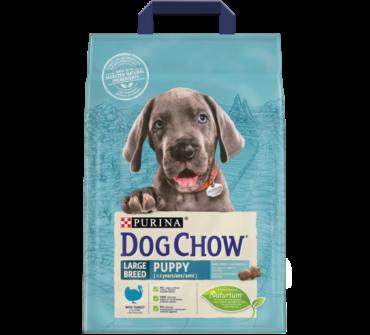 Dog Chow junior large 2.5Kg