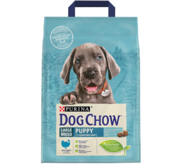 Dog Chow junior large 2.5Kg