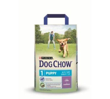 Dog Chow junior bárányos 2,5Kg