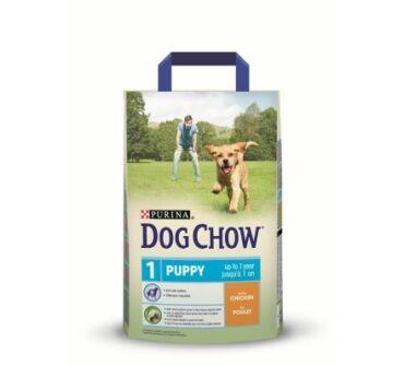 Dog Chow junior csirkés 2.5Kg