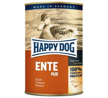 Happy Dog kacsahús konzerv 400g
