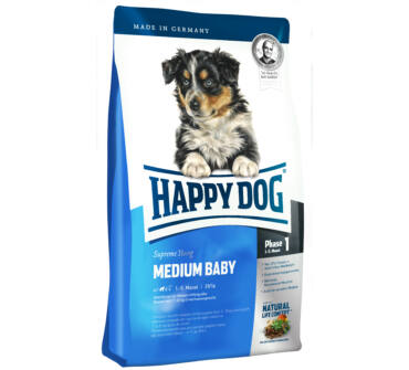 Happy Dog médium baby 4 Kg