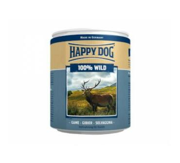 Happy Dog vadhús konzerv 400g
