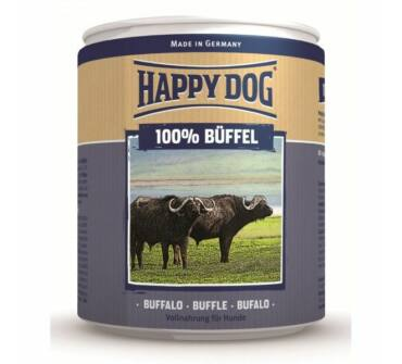 Happy Dog bivalyhús konzerv 800g