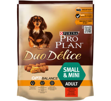Pro Plan Duo Délice Small&Mini 700g