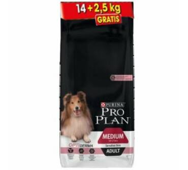 Pro plan adult sensitive 14+2,5 Kg