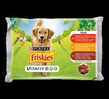 Friskies Vitafit alu.4x adult szószos