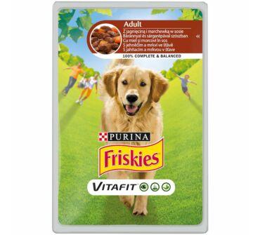 Friskies Vitafit  alutasakos eledel kutyák részére, báránnyal 100g