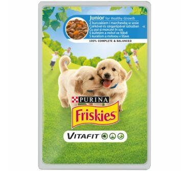 Friskies Vitafit Junior alutasakos eledel kölyök kutyák részére 100g