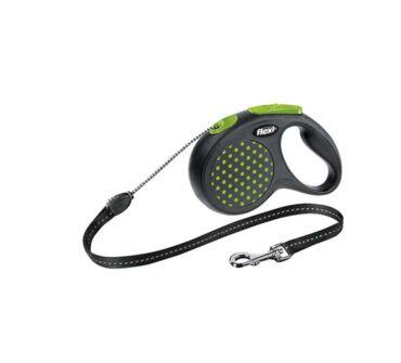 Flexi S New Design Cord zöld