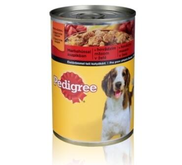 Pedigree 400g konzerv adult marha