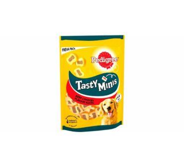 Pedigree Tasty Minis marha és baromfi 155g