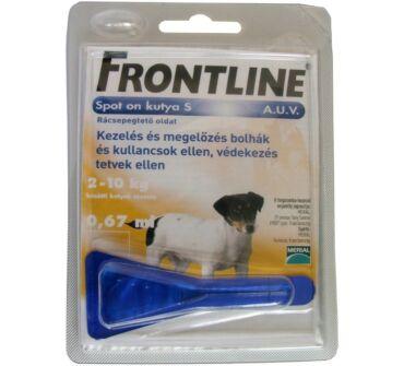 FRONTLINE SPOT ON KUTYÁKNAK 2-10KG S 0.67 ML