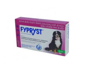 Fypryst 40kg+ 4,02ml kutya