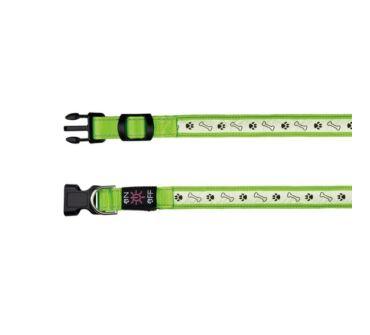 Világító nyakörv USB trx13076