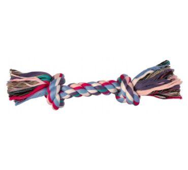 Kötéljáték 2 csomóval 26 cm trx3272