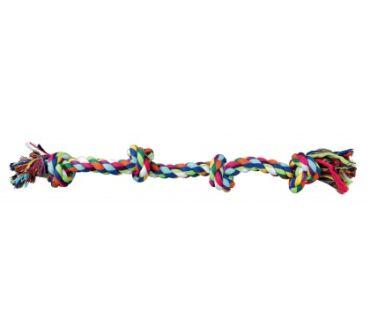 Kötéljáték 4 csomóval 54cm 3274