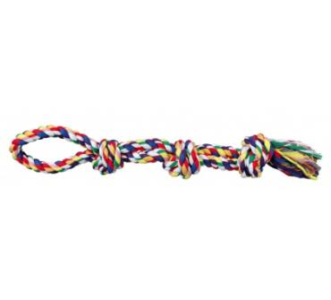 Kötéljáték 3 csomóval 60cm 3275