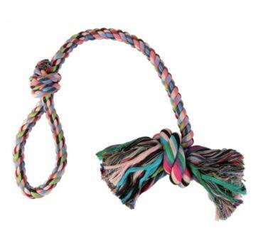 Kötéljáték csomóval 70cm trx3279