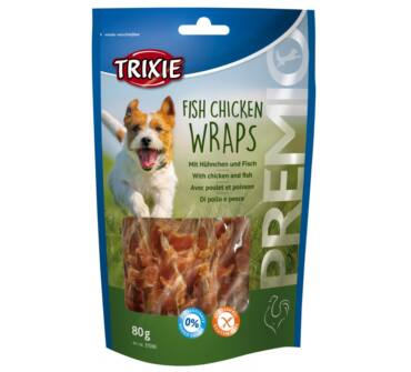 Fish Chicken Wraps 80g trx31590